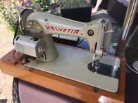 Vintage Helvetia Sewing Machine. Good working order.