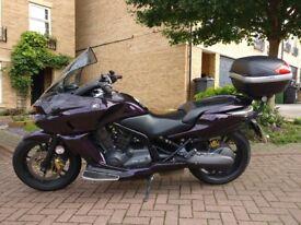 Honda DN-01 NSA700 A-8 2011 Purple Cruiser Auto Motorbike + SatNav/Alarm/Top Box