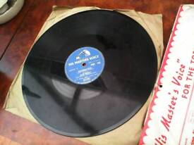 ELVIS PRESLEY 1ST AND 3RD UK 78's PLUS AROUND 10 MORE ASSORTED 78's PLUS A FEW LP's