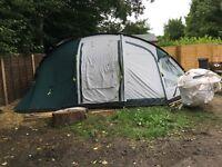 6 man tent 3 rooms