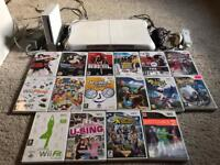 Nintendo Wii console fit board & games