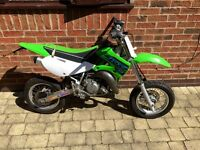 Kawasaki KX 65 Road legal Supermoto - yz/cr/rm/ktm/crf/kxf/85/quad