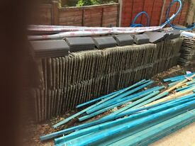 Marley modern concrete roof tiles - approximately 1000 - buyer collects