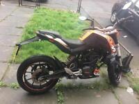 Ktm duke 125cc £1500ono