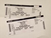 Sigur Res tickets x2 Friday 22nd September Hammersmith Apollo