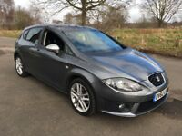 2012 SEAT LEON 2.0 TDI CR FR 5 DOOR GREY FSH