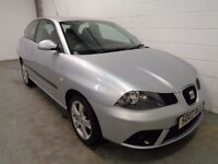 SEAT IBIZA SPORT , 2007 REG , ONLY 56000 MILES + HISTORY , YEARS MOT , FINANCE AVAILABLE , WARRANTY