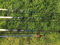 Fishing Rods x 3