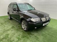 BMW X3 2.0l diesel automatic limited sports edition with long mot and full service history