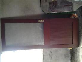 Solid mahogany windows & door