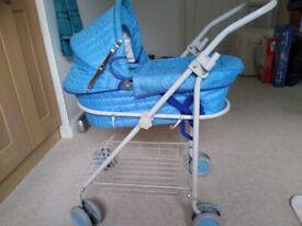Doll's (pet?) pram/pushchair/carrycot- excellent condition.