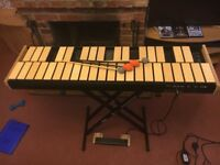 NEW Wernick Xylosynth 3 Octave Birch Laminate SX6-3 with flight case, manual, learning books