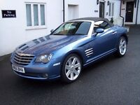 2006 Chrysler Crossfire Convertible. 30k miles. Excellent Original Condition. £5995