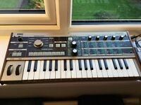 Micro Korg mini synth with vocoder + power lead bargain for quick sale £££££