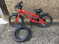Red Frog 48 children's bike with spare tires