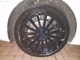 """5*108 225-40-18 Ford RS Reps 18"""" with Falken tyres"""