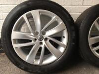 """4 x 2016 18"""" Vauxhall Mokka Alloy Wheel. Part Number: 95440002"""