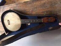 Vintage Dulcetta London 4 String Ukulele Banjo (Banjolele)