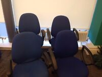 Office chairs x4 for sale **cheap**