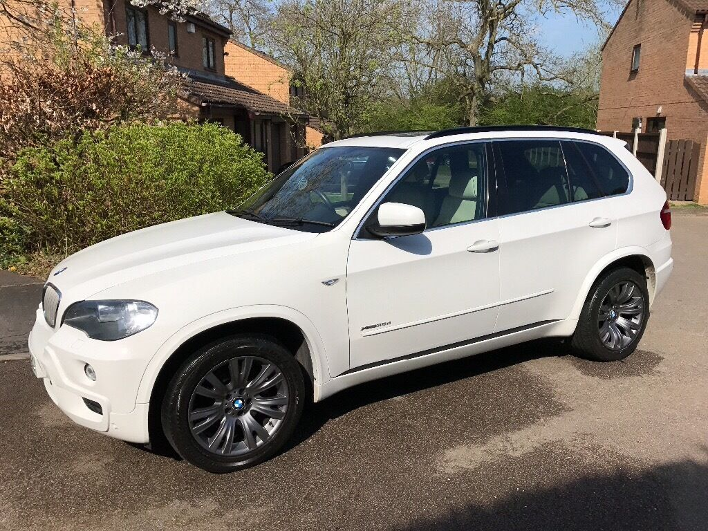 bmw x5 xdrive35d m sport alpine white 2009 65k miles. Black Bedroom Furniture Sets. Home Design Ideas