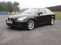 2007 BMW 520D. FULL SERVICE HISTORY. FULL BLACK SPORTS LEATHER
