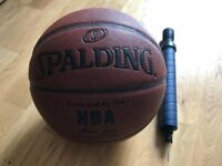 90% New Spalding Basketball with bump