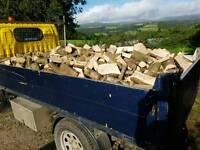 Seasoned Ready to burn hardwood logs