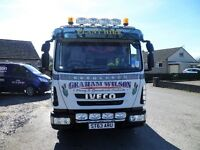 Iveco eurocargo 7.5 tipper lorry