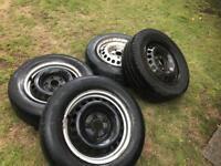 Vw t5 originl steel wheels