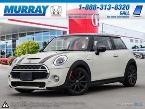 2015 MINI Cooper Hardtop S 6MT *LEATHER, NAVIGATION, PANO ROOF*