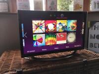 "Samsung 22"" inch smart TV"