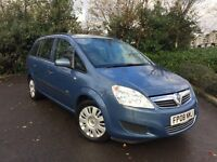 2008 (08) Vauxhall Zafira 1.9 CDTi ( 120ps ) Life 60,000 MILES IMMACULATE