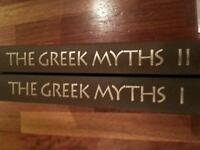 The Greek Myths in hard back. Volume 1&2 by Robert Graves.