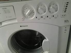 Hotpoint intergrated washing machine as new