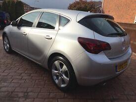 Vauxhall Astra 1.4 i 16v Turbo SRi 5dr Silver Low Mileage