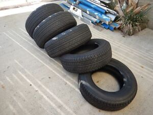 4WD Tyres x 5 New Farm Brisbane North East Preview