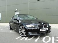 BMW 335i SE e92 sat nav, m3 wheels, flapy deal gearbox, huge spec