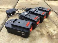A18 Lithium battery 18v Black & Decker for grass strimmer