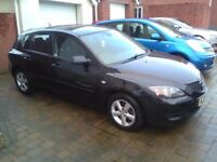 2008 MAZDA 3 1.4TS, ONLY 49K, 1 OWNER FROM NEW, E/W, CD PLAYER & 3 MONTH WARRANTY! (Not Vauxhall)