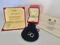 Cartier Love Ring with Matching Earrings
