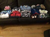 Baby boy clothes bundle- 9-12 months