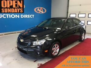 2013 Chevrolet Cruze LT Turbo LEATHER, SUNROOF!