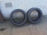 2x Yokohama Tyres 205/40 R17