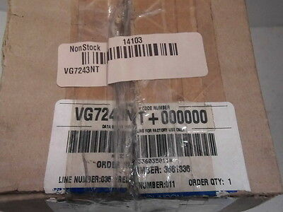 Johnson Controls Globe Valve, 2-Way, NO, 1 In, (F)NPT VG7243NT