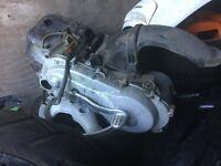 Piaggio Vespa lx 50 2t engine
