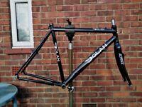 Dolan multi / city cross touring cyclocross road bike carbon-allu 57cm frame - gravel