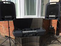 Peavey Escort PA System SELF CONTAINED 3OOW PORTABLE PA!