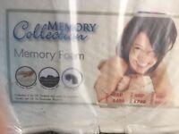 Memory form mattress size single