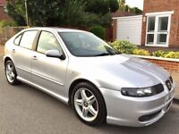 Seat Leon 1.8 20v Turbo Cupra 5dr £1,299 low mileage 2003 (03 reg), Hatchback