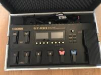 Boss GT100 multi FX pedal